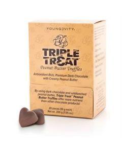 Triple Treat Peanut Butter Truffles (20Ct)