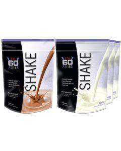 Shape Pack 4 (1 Chocolate ,  3 Vanilla SHAKEs)